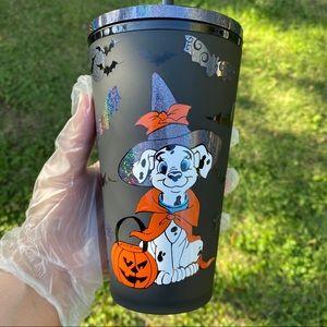 Dalmatian Halloween Starbucks  16 oz cup
